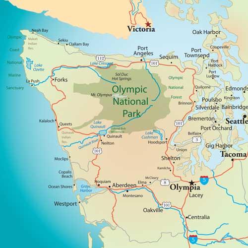 Olympicpeninsulamap Island Girl Walkabout: Map Of Olympic Peninsula Washington State At Codeve.org